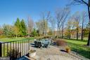 Plenty of expanded living space in the backyard - 17066 WINNING COLORS PL, LEESBURG