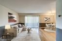 Living Room - 1931 N CLEVELAND ST #501, ARLINGTON