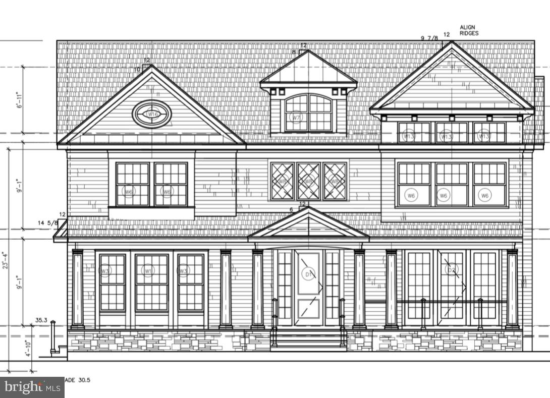 Single Family Homes pour l Vente à Princeton, New Jersey 08540 États-Unis