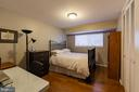 second  bedroom - 10655 WEYMOUTH ST #101, BETHESDA