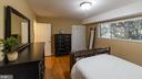 master bedroom w/ walk in and wall closet - 10655 WEYMOUTH ST #101, BETHESDA