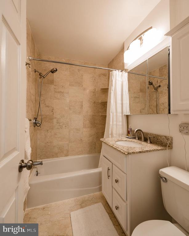 Bathroom was fully updated - 10655 WEYMOUTH ST #101, BETHESDA