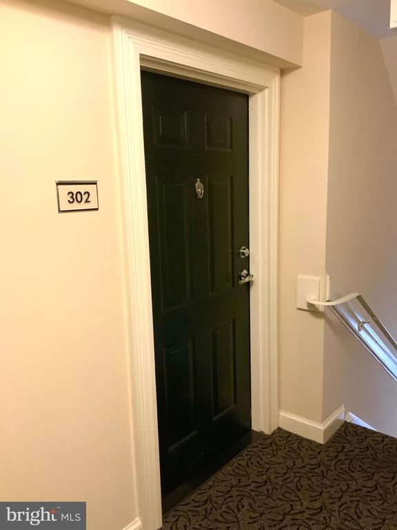 Entry Door - 3802 PORTER ST NW #302, WASHINGTON