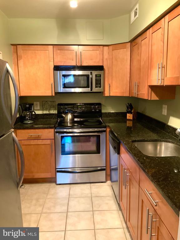 Galley Kitchen - 3802 PORTER ST NW #302, WASHINGTON