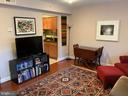 Living Dining Area - 3802 PORTER ST NW #302, WASHINGTON