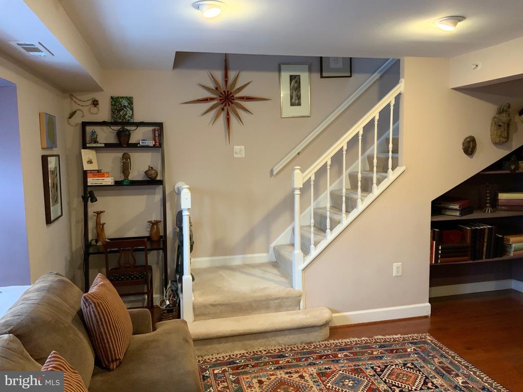 Living Area - 3802 PORTER ST NW #302, WASHINGTON