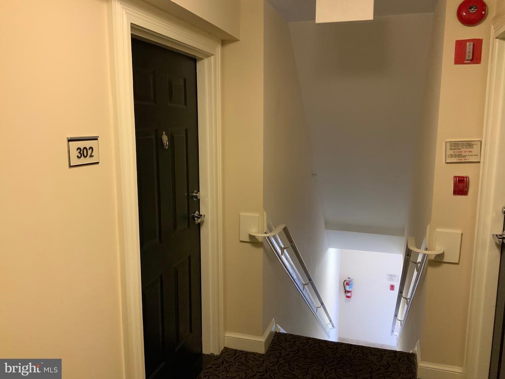 Common Area Hallway - 3802 PORTER ST NW #302, WASHINGTON