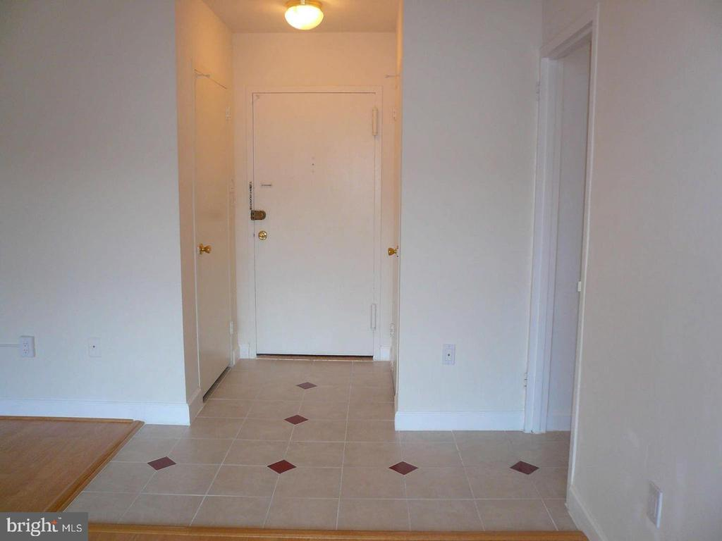 Foyer with 2 closets - 1021 ARLINGTON BLVD #1044, ARLINGTON