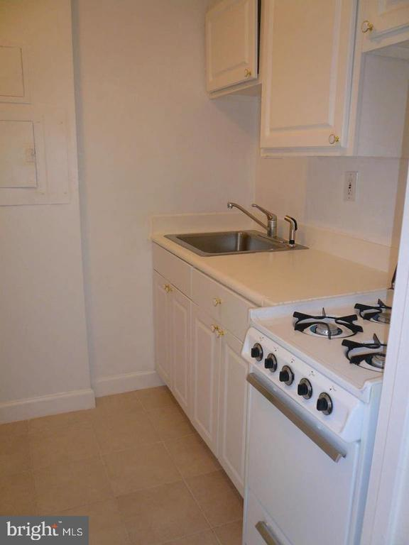 Kitchen with newer cabinets and countertops - 1021 ARLINGTON BLVD #1044, ARLINGTON