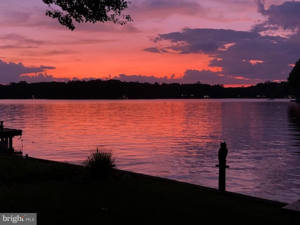 Spectacular sunsets from the dock - 416 WILDERNESS DR, LOCUST GROVE