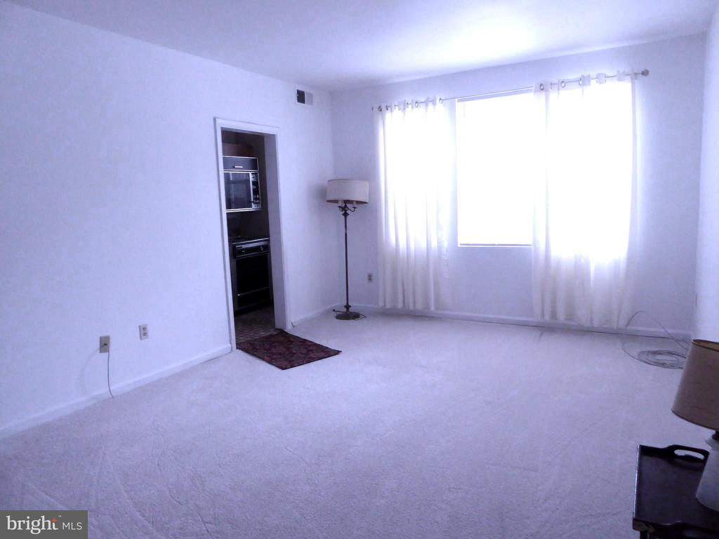 Living Room w/large window  and fresh paint - 1761 N TROY ST #9439, ARLINGTON