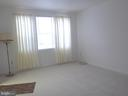 Living Room with large windows for added lighting - 1761 N TROY ST #9439, ARLINGTON