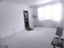 Living room with fresh paint/new carpet - 1761 N TROY ST #9439, ARLINGTON