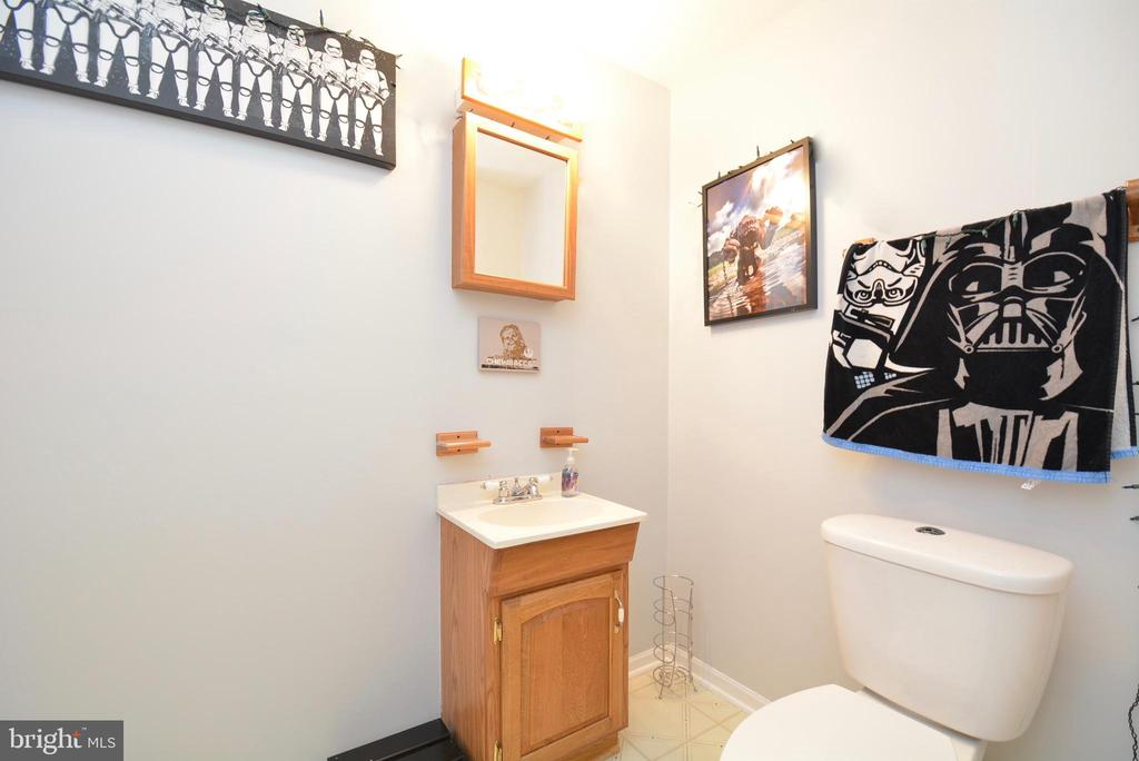 Lower Level Half Bath - 103 MAYFAIR PL, STAFFORD