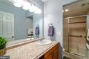 Master Bathroom - 132 E MEADOWLAND LN, STERLING