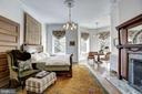 Over-sized Master Filled with Natural Sunlight - 1633 16TH ST NW, WASHINGTON