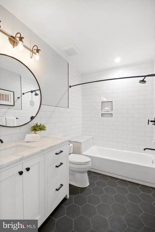 Lower Level Bathroom - 1432 G ST SE, WASHINGTON