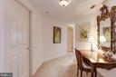 Entry to master suite - 5600 WISCONSIN AVE #1208, CHEVY CHASE