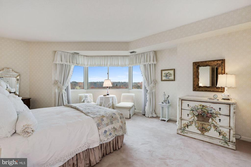 Second bedroom with gorgeous views - 5600 WISCONSIN AVE #1208, CHEVY CHASE