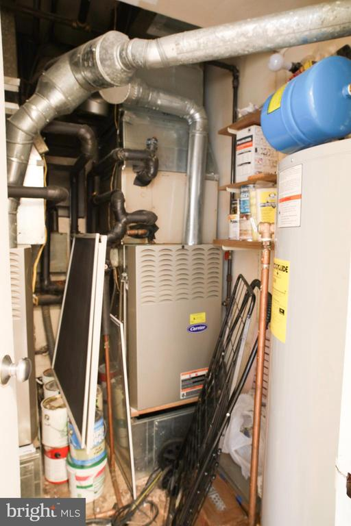 Utility room with two HVAC systems - 154 G ST SW #149, WASHINGTON