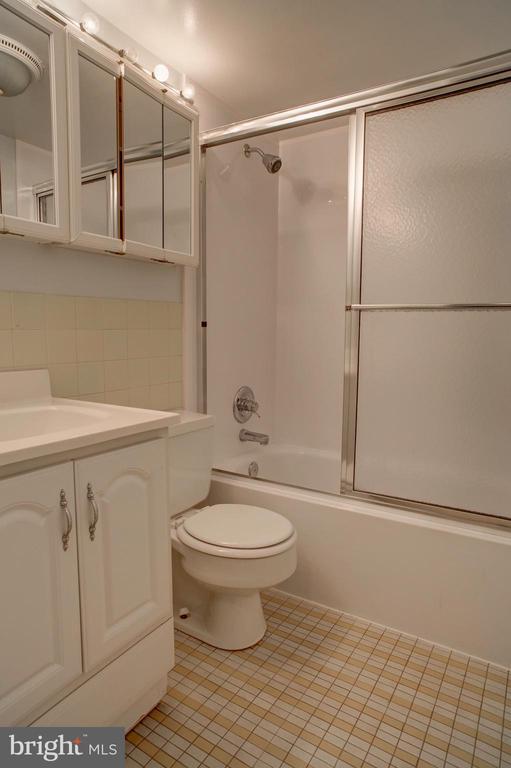 Bathroom in studio apartment - 154 G ST SW #149, WASHINGTON