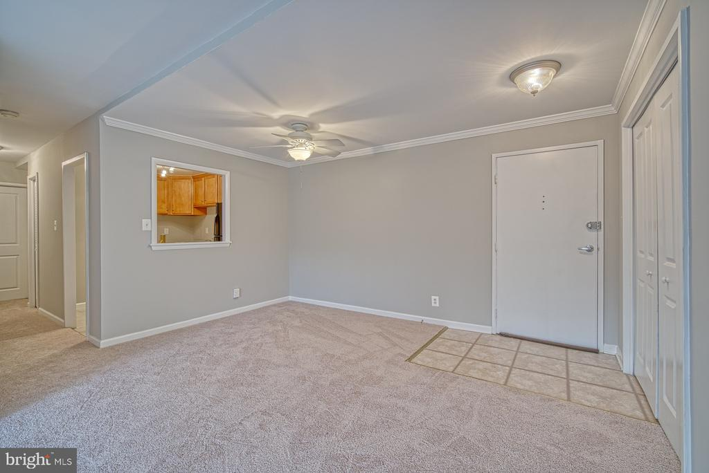 Tiled foyer, pass through to kitchen - 10570 MAIN ST #520, FAIRFAX