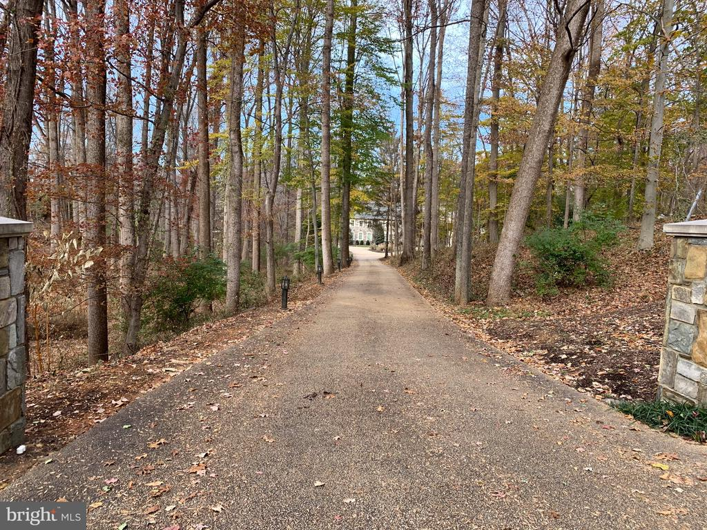 Long Private Drive Approach - 904 CHINQUAPIN RD, MCLEAN