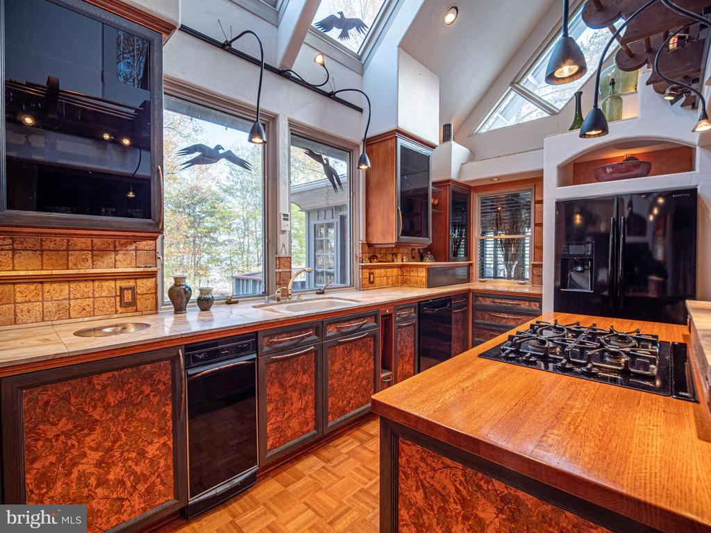 Gas cooktop with downdraft - 4610 FRIENDSHIP ACRES RD, NANJEMOY