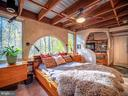 Woodland views. Tub grotto. Recessed wood ceiling - 4610 FRIENDSHIP ACRES RD, NANJEMOY