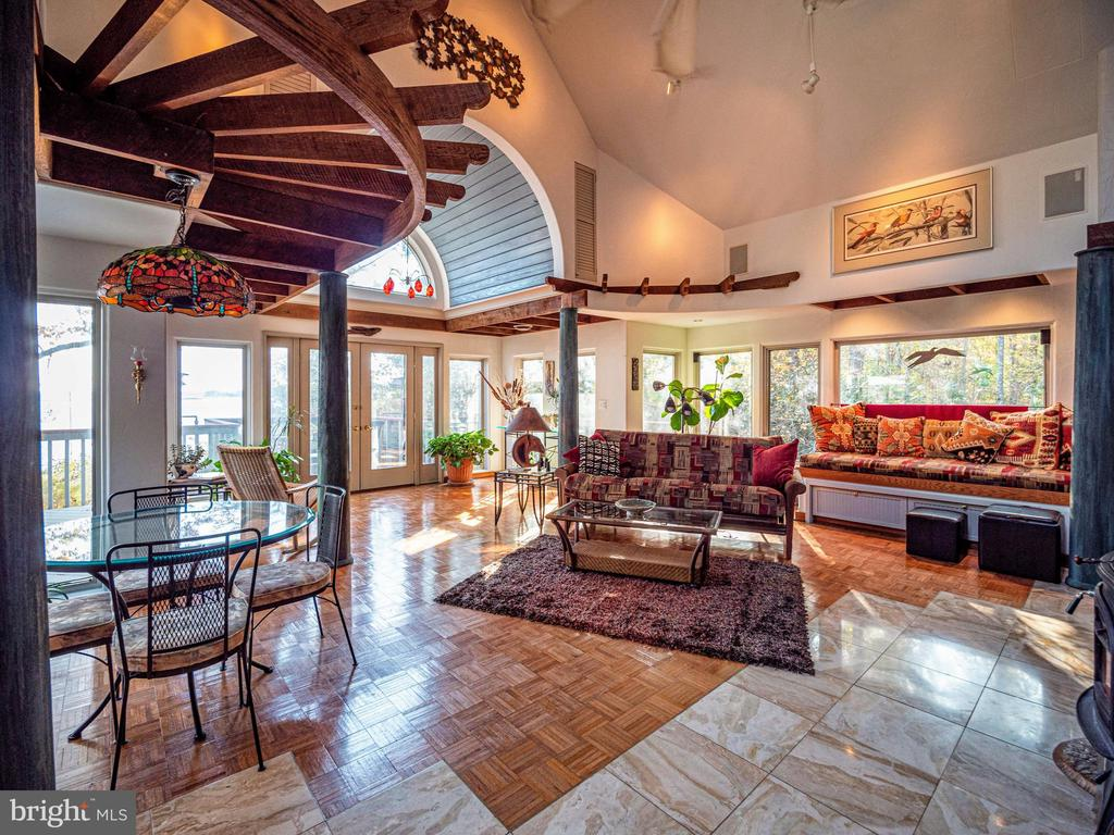Marble tile floors with radiant heat - 4610 FRIENDSHIP ACRES RD, NANJEMOY