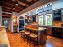 A chef's kitchen - large enough for a huge party - 4610 FRIENDSHIP ACRES RD, NANJEMOY