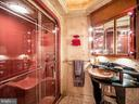 Guest Bath with steam shower and cove lighting - 4610 FRIENDSHIP ACRES RD, NANJEMOY