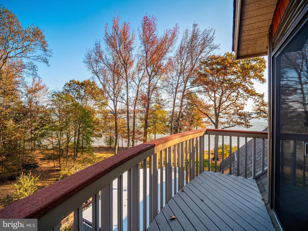 Deck at tippy top (4th floor) - 4610 FRIENDSHIP ACRES RD, NANJEMOY