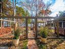 Enclosed garden - raised beds - 4610 FRIENDSHIP ACRES RD, NANJEMOY