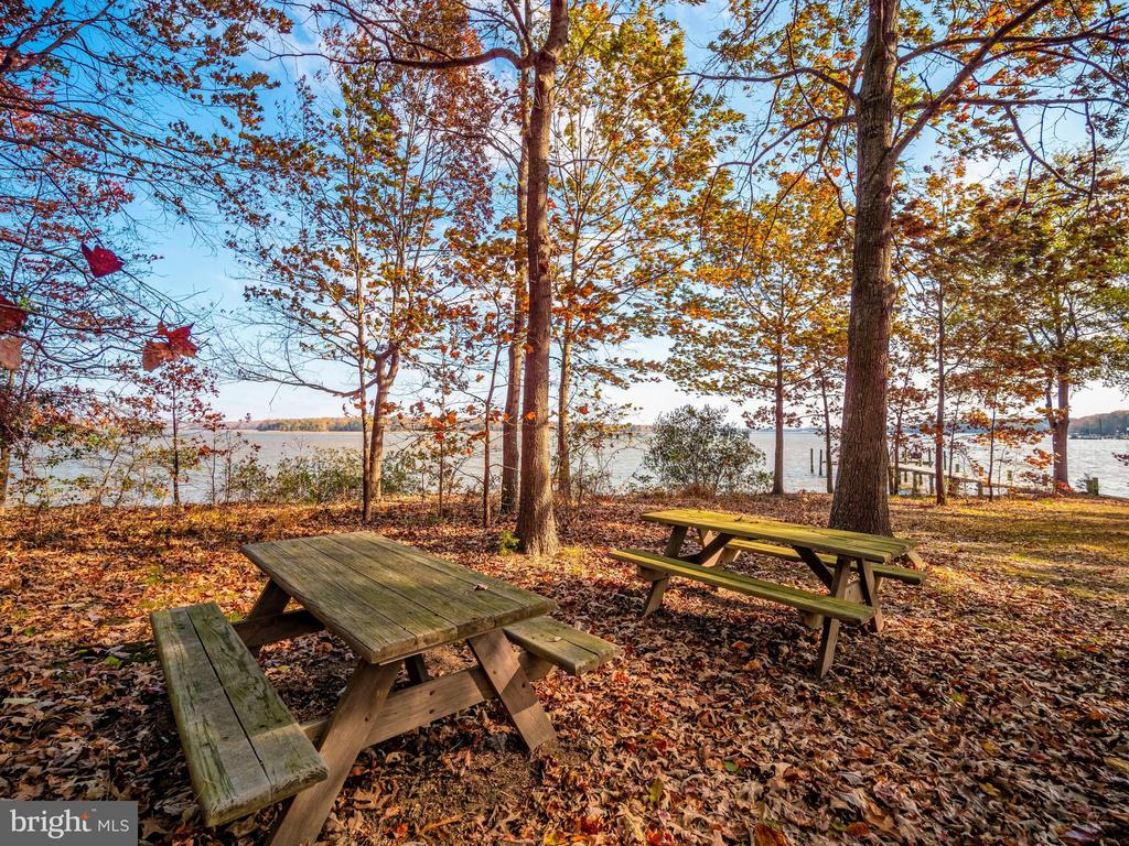 View from picnic area - great for crab feasts! - 4610 FRIENDSHIP ACRES RD, NANJEMOY