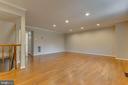 Recess lighting, no need for floor lamps! - 7421 FOXLEIGH WAY, ALEXANDRIA