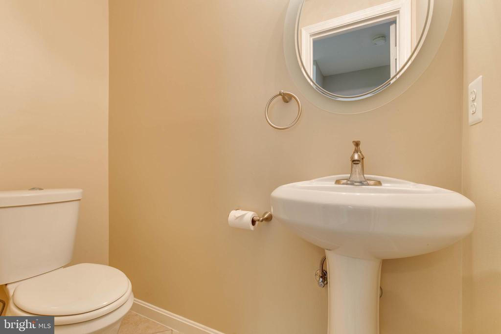Basement guest bath - 7421 FOXLEIGH WAY, ALEXANDRIA