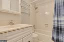 Upper level second bath - 7421 FOXLEIGH WAY, ALEXANDRIA