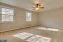 Large master bedroom w/ natural light - 7421 FOXLEIGH WAY, ALEXANDRIA