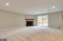 BRAND NEW carpet in basement - 7421 FOXLEIGH WAY, ALEXANDRIA