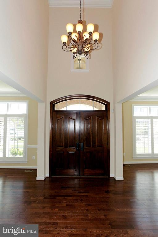 GRAND ENTRYWAY INTO THE HOME - 1351 VERRIER CT, VIENNA