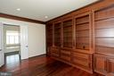 OFFICE/STUDY W/BUILT INS - 1351 VERRIER CT, VIENNA