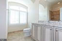 FULL BATH IN THE CARRIAGE HOUSE (PIC 1) - 1351 VERRIER CT, VIENNA