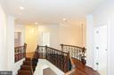 CUSTOM WROUGHT IRON ON THE STAIRCASE - 1351 VERRIER CT, VIENNA