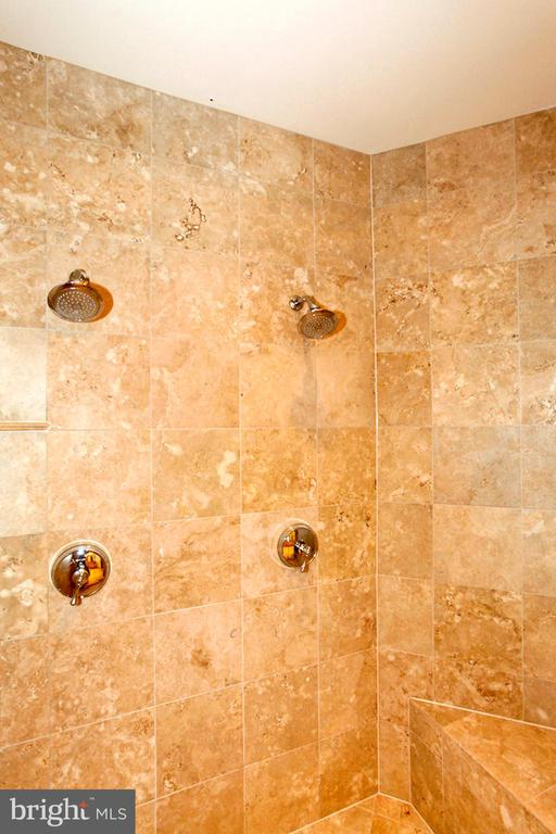 ENJOY THE DUAL SHOWER HEADS - 1351 VERRIER CT, VIENNA