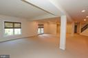 LARGE LOWER LEVEL (PIC 4) - 1351 VERRIER CT, VIENNA