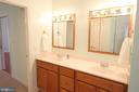 Master Bath - Dual  Vanity - 307 MT PLEASANT DR, LOCUST GROVE