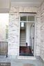 ENTRANCE TO THE CARRIAGE HOUSE - 1351 VERRIER CT, VIENNA