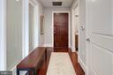 Welcoming foyer - 1600 CLARENDON BLVD #W103, ARLINGTON