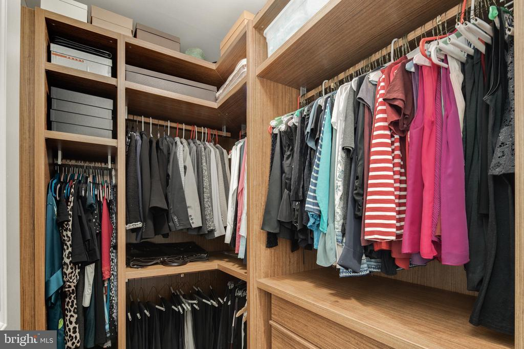 Walk-in closet - 1600 CLARENDON BLVD #W103, ARLINGTON